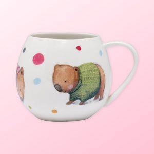 Barney Gumnut Wombat mug