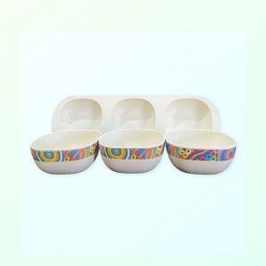 Betty Club design snack bowl set of 3