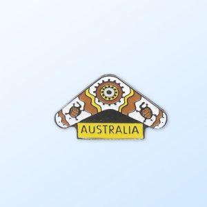 Boomerang Australia pin