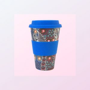 Colleen Wallace travel coffee cup