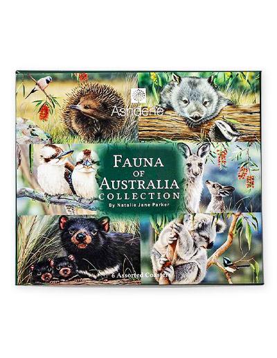 Fauna of Australia Coasters set of 6