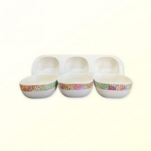 Janelle Stockman design snack bowl set of 3