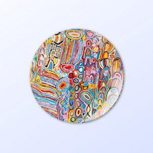 Judy Watson design 10 inch plate
