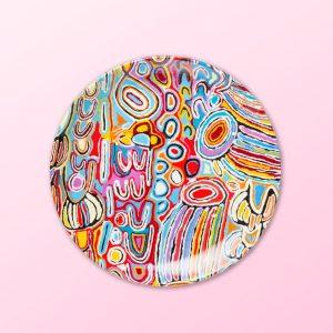 Judy Watson design 7 inch plate