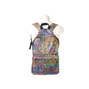 Judy Watson design fold up back Pack