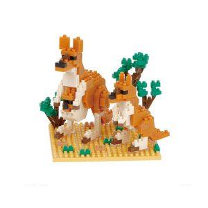 Kangaroo and joey nanoblock