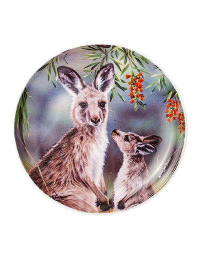 Kangaroo design plate