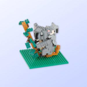Koala and baby nanoblock