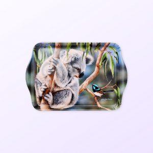 Koala and wren scatter tray