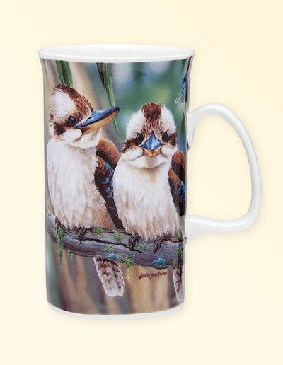 Kookaburra design mug