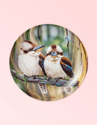Kookaburra design small plate