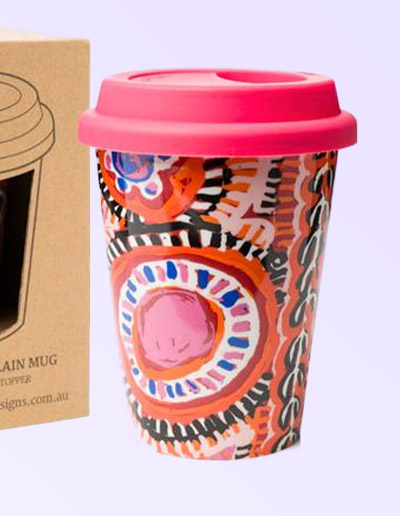 Murdie Morris design travel coffee mug