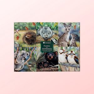 Fauna of Australia set of 6 placemats