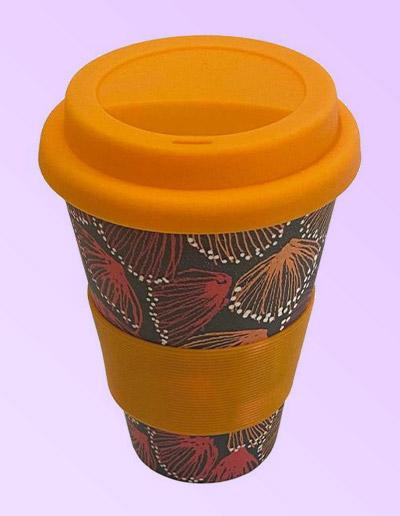 Selina Teece design bamboo coffee cup