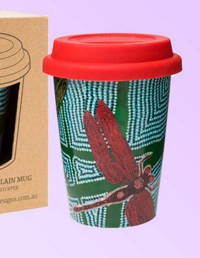 Sheryl Burchill design travel coffee mug