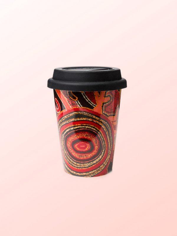 Theo Hudson design travel coffee mug