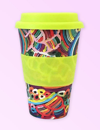 Betty Club design travel coffee mug