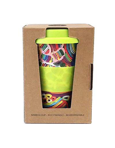 Betty Club design travel coffee mug in gift box