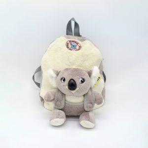Grey Koala Plush backpack