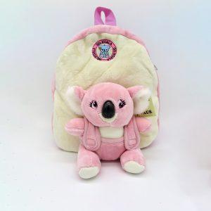 Pink Koala Plush backpack