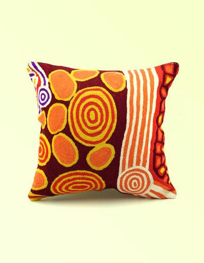 Angkatji Tiger wool cushion cover 30cm
