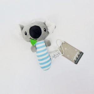 Blue Koala baby rattle