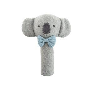 Koala Cutie blue rattle