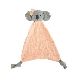 Koala Cutie Security Blanket - Pink