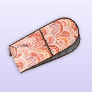 Sandhills design double oven mitts