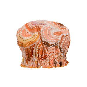 Sandhills design shower cap