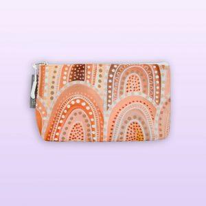 Sandhills design small cosmetic bag