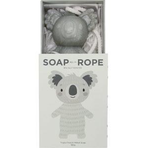 Koala Soap-on-a-rope in its box