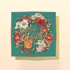 Merry Christmas mini card