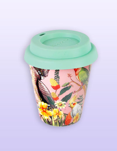 Floral Paradiso small coffee cup