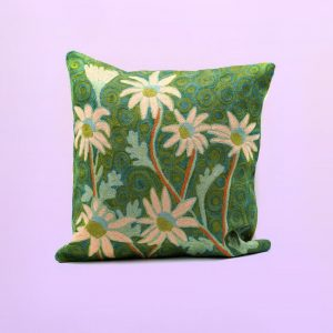 Flannel Flower cushion