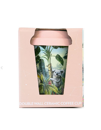 Nature dwellings small travel mug in gift box