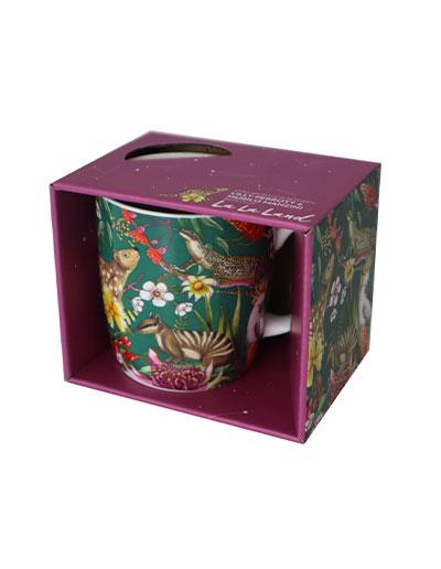 Exotic Paradiso mug in a gift box