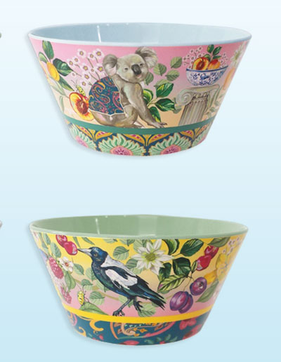Serendipity design bowls. Two shown here