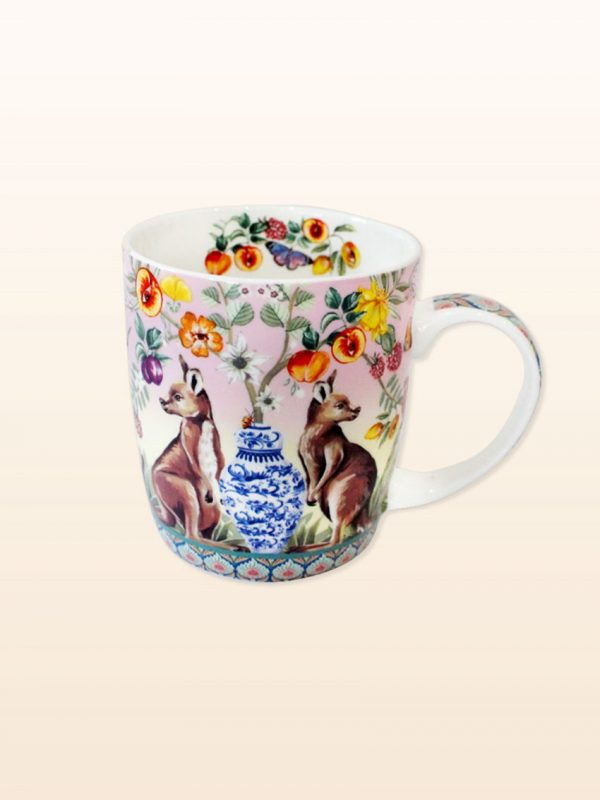 Serendipity design china mug