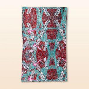 Sheryl B Ocean tea towel