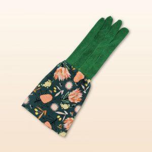Aus flora design garden gloves in green