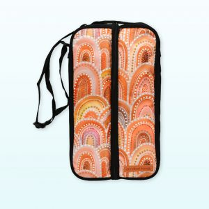 Sandhills design bottle bag