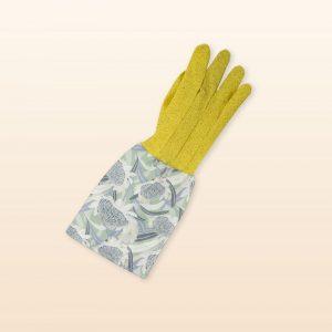 Blue watatah design garden gloves