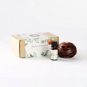 Mini tea tree oil & pod gift box